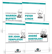 "Guru-Reports: ""Warren Buffett"", ""Peter Lynch"", ""Sir John Templeton"" und ""André Kostolany"""